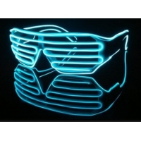 China EL Wire Glasses Shutter Style on sale