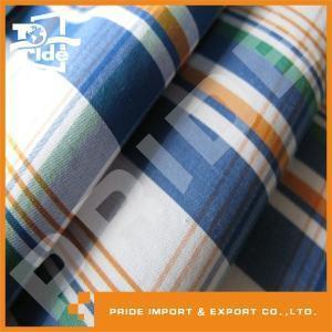 China Cotton Stretch Yarn-dyed Fabric PR-WY214 digital printing chambray yarn dyed cotton fabric on sale