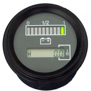 China Meters Battery Discharge Indicator with Hour Meter on sale