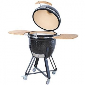 China China Kitchenware Barrel Ceramic Barbecue Grill on sale