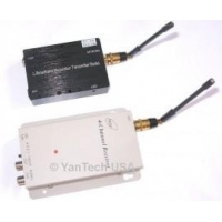SUPER HIGH POWER 7000mW HQ 4-Channel Wireless Audio/Video Transmitter & Receiver