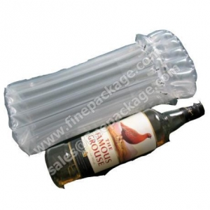 China Inflatable 750 ml Wine Bottle AirBag, Packaging Protection bag on sale