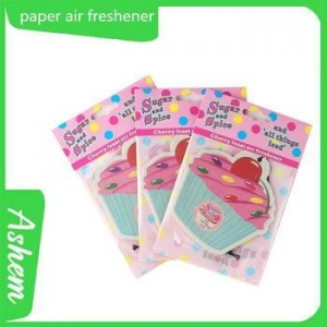 China The best selling bulk air freshener car perfume car air freshener perfume with Logo printing IC-950 on sale
