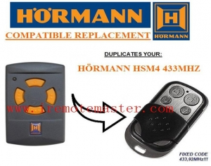 China Title:Hormann HSM4 433MHZ remote control on sale