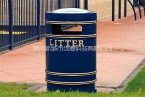 China Cast Iron Round Large Litter Bin on sale