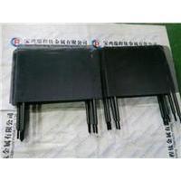 Sodium hypochlorite generator used coated titanium anode