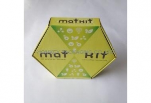 China Folding Cartons Product Name:hexagon shaped corrugated box,die cut box on sale