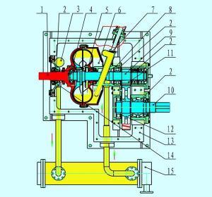 China Rear gear-type hydraulic speed gear on sale