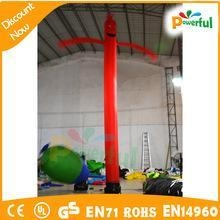 China one leg inflatable dancer/sky dancer inflatable air man dancer on sale