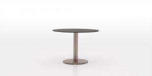 China DFT6566 GLASS ROUND TABLE on sale
