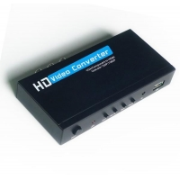 China VGA/YPBPR TO HDMI CONVERTER box 1080P SCALER on sale