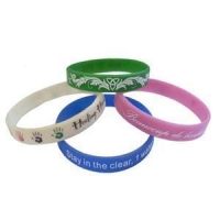 Mixed Color Silicone Bracelets