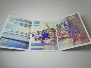 China A3/A4/A5 Folded Flyers & Leaflet on sale