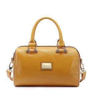 China Fashion Pu Leather Messenger Purse Red on sale