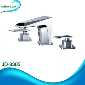 China 2015 bathroom dual handle deck mount basin taps JD-8305 on sale