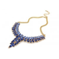 Charming Vintage Luxury Statement Crystal Necklace