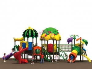 China Fruit Park Series playhouse slide Model: AP-OP41008 on sale
