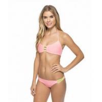 Two-Piece Pink Brief Swimwear 21406-2