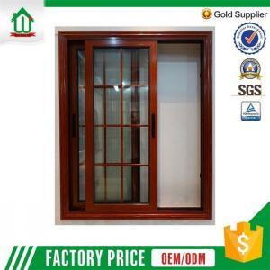 China American aluminum sliding window grill design on sale