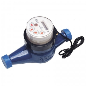 China Photoelectric Direct Reading Single-jet Dry Dial Water Meter on sale