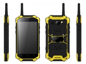 China 4.7inch MSM8916 explosion proof smart phone with NFC/ Walkie-talkie/ 4G / IP68 phone HR476 on sale