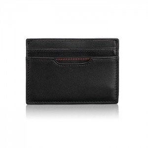 China Nappa Leather money clip card case 3 on sale