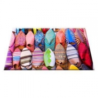 China Colorful printed door mat on sale