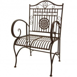 China Tables & Chairs Rustic Garden Chair - Rust Patina on sale