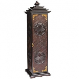 China Japanese/Korean Furniture Rosewood Pagoda CD/DVD Stand on sale