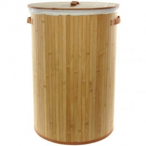 China Bamboo Laundry Hamper on sale