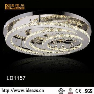 China 3 Tier Modern Living Room Chandelier on sale