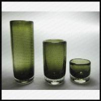 Decorative Murano Art Glass Bubble Vases