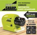 China Kitchenware Swifty Sharp Motorized Knife Sharpener on sale