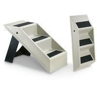 China JOYM-1023 Portable Folding Plastic Pet Stairs on sale
