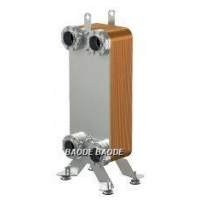 China Stainless Steel AISI 316 Brazed Plate Heat Exchanger Condenser for Industry on sale