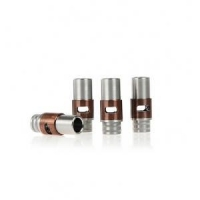 China 510 airflow control drip tip SS+brass+copper on sale