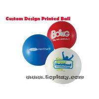 China RUBBER BOUNCY BALL Custom design Printed Bouncy Ball on sale