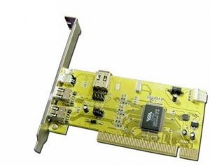 China PCI/ PCMCIA Card RMCP012USB 4 port VIA 1394 Card on sale