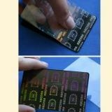 China Plastic Card Printing Hologram Printing Cards / Hologram Cards on sale
