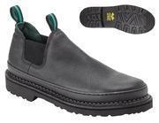 China Georgia Boots - Men's GIANT ROMEO Steel Toe Work Shoes - Black on sale