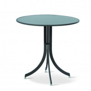 China Cafe Tables Skat HPL Round Table on sale