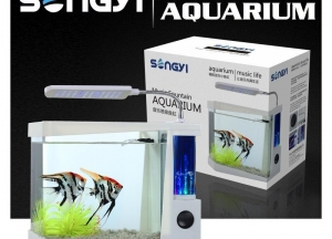 China Aquariums,fish tank USB Music F on sale