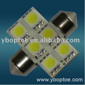 China 5050 SMD type led car lamp/Reading LED lamp,6 smd Model:YB-J1031PC-3125-5050W6N12 on sale