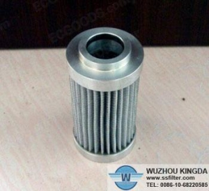 China Pleated filter Industrial hydraulic oil filter cartridge on sale