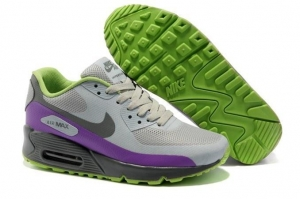 China Durabl Air Max 90 Hyperfuse Prm Womens Shoes Grey Purple on sale