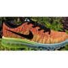 China Best Choice 2014 Flyknit Lunar Orange Black Yellow for sale