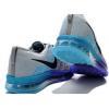China Light Weight 2014 Flyknit Lunar Fluorescent Gray Blue Purple for sale