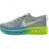 China Wholesale 2014 Flyknit Lunar Fluorescent Green Gray for sale