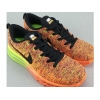 China Light Weight 2014 Flyknit Lunar Orange Bordeaux for sale