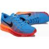 China Buy Online 2014 Flyknit Lunar Blue Orange for sale